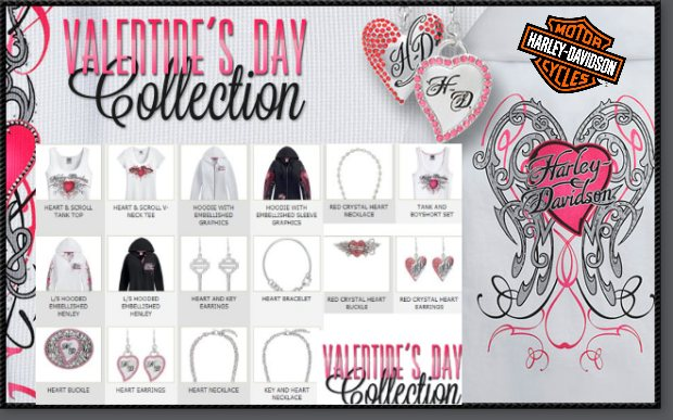 2013 Harley-Davidson Valentijns collectie Valentines Collection