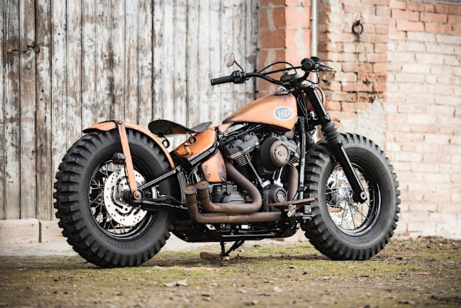 Harley Davidson Battle of the Kings farmmachine
