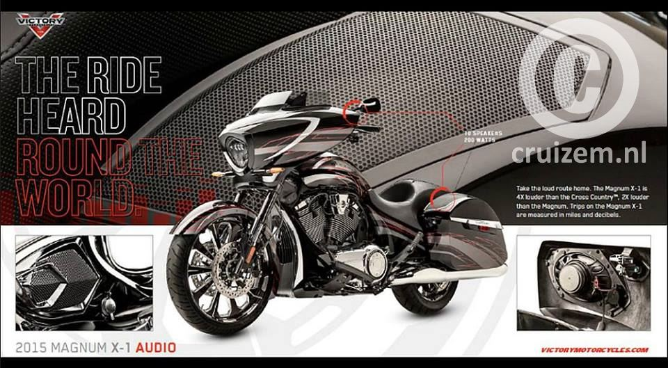 2015 Victory Motorcycle Magnum X1