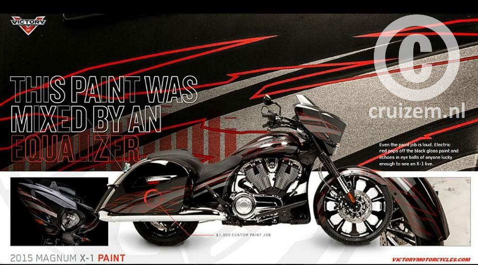 2015 Victory Motorcycle Magnum X1 audio